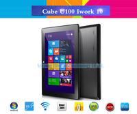"Cube U100GT iWork10 Quad Core Windows 8.1 Tablet PC 10.1"" IPS 1280*800 Intel Atom Z23740D 1.33GHz 2GB 32GB HDMI Dual Camera OTG"