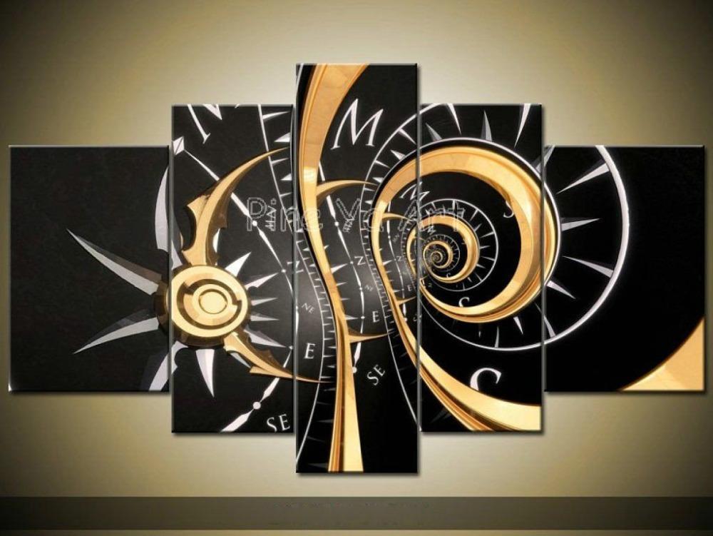 Achetez En Gros Horloge Murale En Toile Image En Ligne