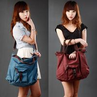 2014 New Women Fashion Canvas Portable Fashion Handbags Classical Retro Messenger Bag k997-3 , Free Shipping