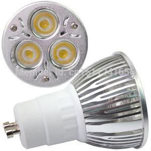 High Power GU10 3X2W 6W 3 LED Spot Bulb Lamp Light 60 Warm White AC85~265V A896 YlRIVu(China (Mainland))
