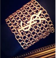 Fashion Bracelet chain alloy letters personality weaving charm bracelet free shipping
