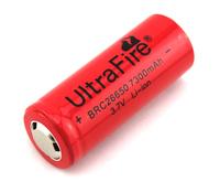 1X UltraFire 26650 3.7V 7300mAh Rechargeable Li-ion battery For UltraFire Laser LED Flashlight 26650 batteries