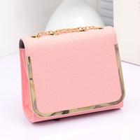 2014 new retro women clutch women handbags designers brand wholesale evening bag chain shoulder Messenger bag pu material