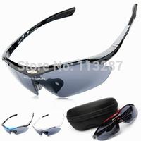 free shipping 2014 Men Women Cycling Eyewear Sunglass Outdoor Cycling Glasses Bicycle Bike Sports Sun Glasses original Box