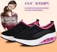 shoe female sneakers women 2014 zapatillas mujer,zapatillas deportivas mujer,light weight  zapatos mujer women sneakers platform