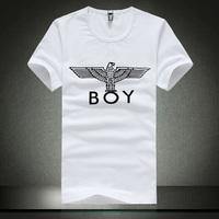 Hot sell 2014 men big yards short sleeve T-shirt cotton T-shirt summer round collar short sleeve T-shirt free shipping