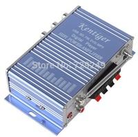 HY502 Car Amplifier MP3 FM/USB Player 20W+20W Digital display power amplifier with Remote Control