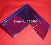 Free shipping 10pcs Single disc / CD box / logo frosted / dark blue / Blu-ray DVD single boxing,