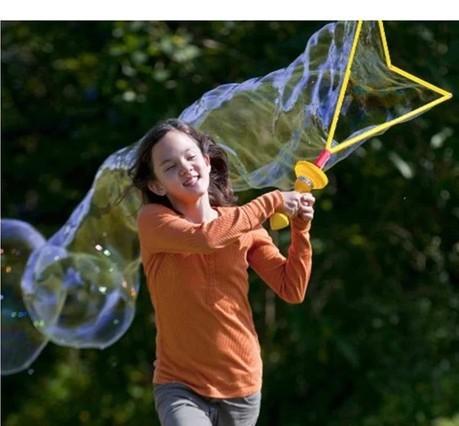 Blowing Large Soap Bubbles Blowing Bubbles 46 cm Large