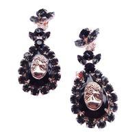 New 2014 fashion earring  spring crysta earring design statement  clip Earrings for women
