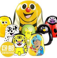 2014 Hot sale Children Animals bags Baby Cartoon PC Kids Backpacks kid's hard eggshell boy girl Schoolbag