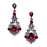 2014 New Hot sale statement fashion crystal shourouk stud Earrings for women girl party earring Factory Price earring wholesale