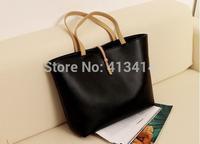 HOT! vintage simple PU leather bag handbag Candy color Fashion Lady Ladies Women's shoulder bag Messenger Bags F0108