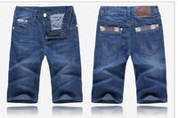 2014 New Brand Short Jeans Men Denim Blue Boy's Hot Short Cotton Beach Pants Fashion Summer Mens Shorts jean ,jeans men #520