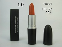 2014 makeup lip stick high quality Brand New CB96  orange Lipstick 3G  with english colour name free shipping