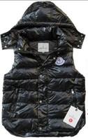 free shipping women's Men's Fashion Goose Down Vest