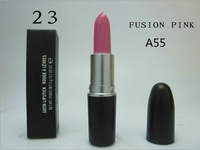 2014 makeup lip stick high quality Brand New fusion Pink Colors Lipstick 3G  with english colour name free shipping