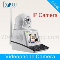 TF card Motion detection function Wireless alarm Surveillance Cameras CCTV Camera Videophone camera with Microphone/ Speaker