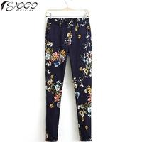 European American apparel spring/summer new women flower casual pants 2014 women fashion print floral trousers 12734