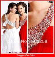 SD69 Short Knee Length Chiffon Bridesmaid Dress