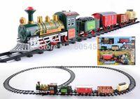 2014 diy train tracks toy train track amusement park ride track train