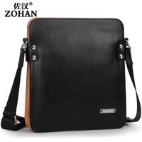 2014 man bag commercial cowhide male shoulder bag messenger bag casual bag male