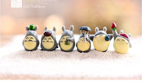 Landscape ornaments Hayao miyazaki little totoro doll DIY assembly place toy free shipping