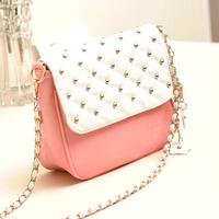 small flower crossbody cross body bags for women messenger bags desigual clutch bolsa impresso for girls pink red