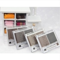 Make-up two-color eyebrow trimming powder waterproof eyebrow free shipping