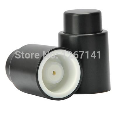Free Shipping Popular Wine Bottle Sealed Stopper Plastic Reusable Vacuum Fresh Plug Bottle Cap Y684 a2lHGk(China (Mainland))