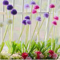 4pcs/lot  5 Flowers head Simulation flower Silk Head Artificial Flowers Wedding party Flower Home Decor FH001