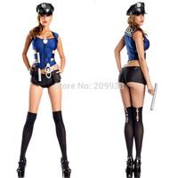 New police costumes ,women sexy uniform ,halloween costume for women 8869