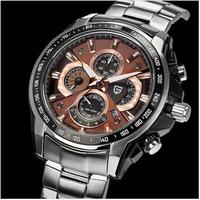 2014 new arrive Pagani Design men stainless steel watches quartz watch waterproof 30M (CX-0005)