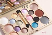 2014 NAKED MAKEUP Korea stylish 16 color eye shadow palette #1 Smoky sand Professional makeup kit  naked palette FREE SHIP
