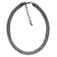 2014 fashion torques necklace crystal chain necklace Unique Europe costume chunky z choker Necklaces statement jewelry women