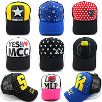 Spring 2014 Brand New Cotton Mens Hat letter Bat unisex Women hats baseball cap snapback casual caps