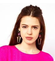 Canlyn Jewelry (2 pcs/lot) Crystal Stud Earrings CE064