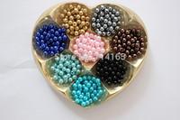 Imitation Pearl Round Beads 8mm Acrylic beads 1000pcs 17 colors Upick