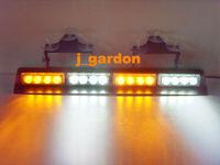 car styling parking car covers 16 LED A-W-A-W Light 3W Windshield Emergency Light Strobe Light LightBar JN16-3W
