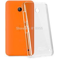 10Pcs/Lot,Genuine Brand IMAK Crystal series PC Ultra-thin Hard Skin Case Cover Back For Nokia Lumia 630