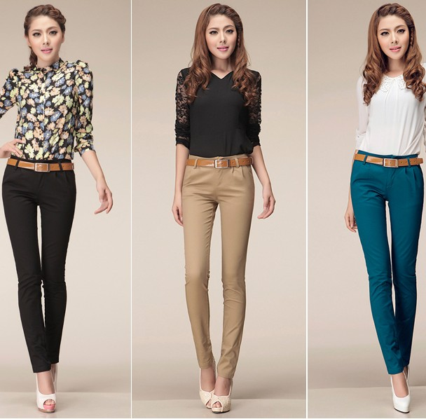 Casual Dress Pants For Women Women's Skinny Pants Casual