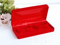 """luxury velvet double bacelets couple bangle box/case jewelry box 175*90*50mm/6.9""""*3.54""""*2"""" packing box wedding gift box R006#"""