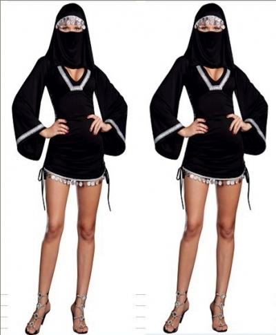 gratis verzending print bedoeïenen schoonheid vrouw sluier Arabische volk typische kleding kostuum stam lqz067(China (Mainland))