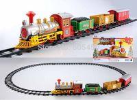 Fashion promotional speed track electric train thomas the train plastic tracks mini rail car