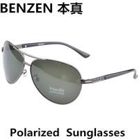 2014 Men sunglasses Polarized Vintage Sunglasses driver driving  glasses Avaitor Sun Glasses oculos  with case black 2046A