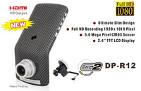 Real Ambarella A2S60 Luxury Pro Car DVR Recorder+5MP Full HD 1080P 30FPS Car Camera+ H.264  IR Night Vision GPS Recorder Camera