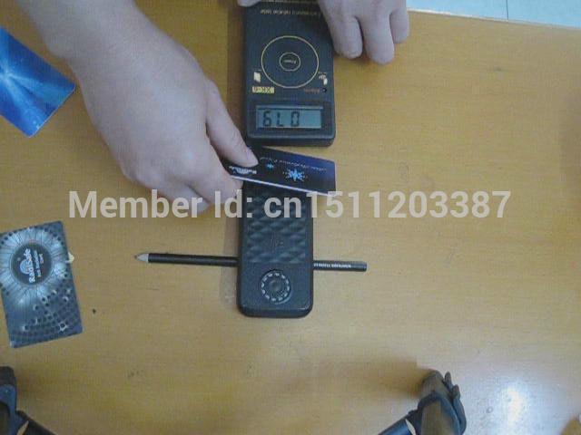 2014 hot product radisafe anti Radiation card, EMF protection card,shield 99.8% test by morlab 20pcs /lot free shipping(China (Mainland))