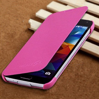 2014 New!! Luxury Retro PU Leather Case For Samsung galaxy S5 SV i9600 +Free Screen protector