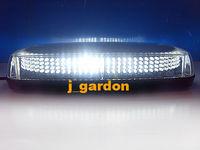 car lightBar source 304 LEDs  Strobe Emergency Warning Flash Waterproof Magnet LightBar White car styling Light Bar