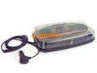 car lightBar source 304 LEDs  Strobe Emergency Warning Flash Waterproof Magnet LightBar Blue car styling Light Bar